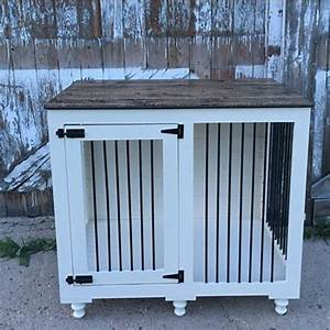 best 25 dog crate furniture ideas that you will like on With wooden dog pens for inside
