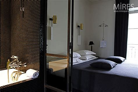 italienne dans une chambre emejing salle d eau dans chambre contemporary awesome