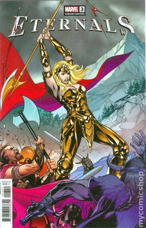 Eternals comic books issue 3