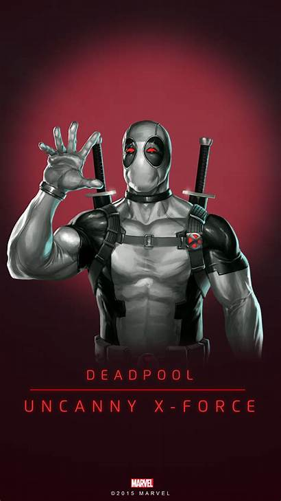 Deadpool Force Marvel Quest Puzzle Comics Poster