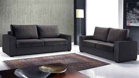 canap 3 places tissus canapé italien 3 places en tissu marron canapé design