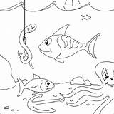 Coloring Pages Fish Shark Hammerhead Colouring Printable Activity Fishing Tackle Webnode Nz Coloringpages101 Reels sketch template