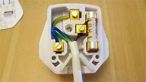 How To Wire A British Plug