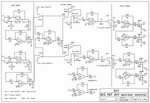 Diy Modular  U0026quot Big Pot U0026quot  Active Monitor Controller