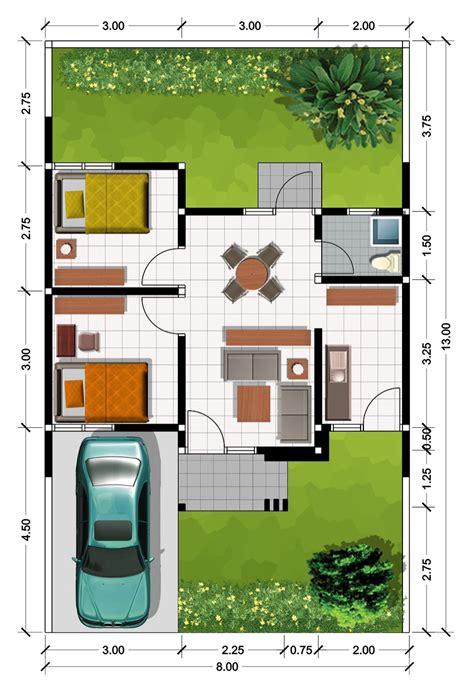 gambar denah rumah minimalis gambar rumah idaman