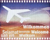 Welcome In Different Languages Stock Photo - Image of ...