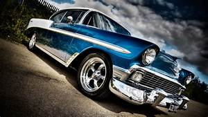 Classic Chevy Car Wallpaper · iBackgroundWallpaper