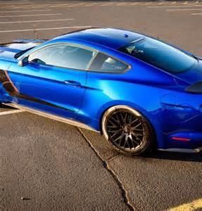 2017 Mustang GT Blue Lightning