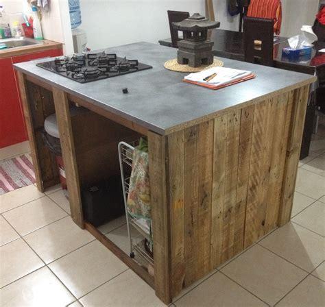 meuble central cuisine decoration cuisine ilot
