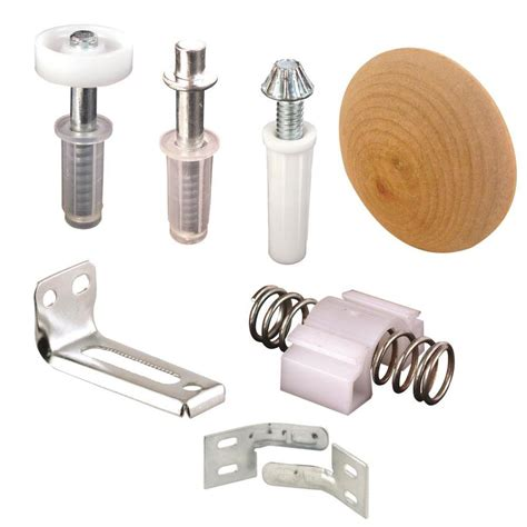 Shop Primeline 7piece Bifold Closet Door Hardware Kit At