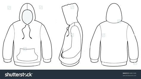 Hoodie Template Blank Hoodie Template Images Template Design Ideas