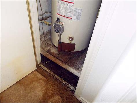 prevention  water heater leaks  overflows