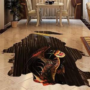 3D Floor Art Bathroom