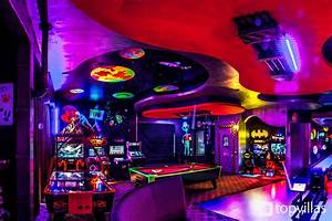 Bowling, Alley, Arcade, Machines, Pool, Table, And, More