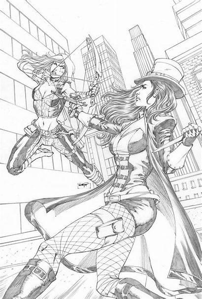 Coloring Helsing Van Pages Superhero Comic Comics