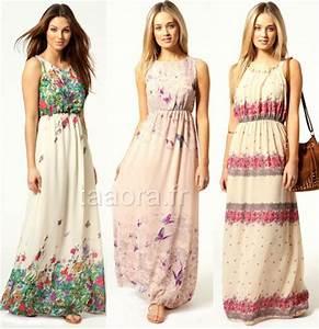 Robe Style Boheme : robe longue hippie chic ~ Dallasstarsshop.com Idées de Décoration