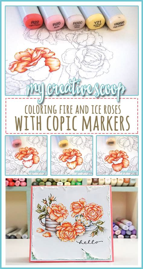 Coloring Using Copic Markers by 526 Best Copic Distress Prisma Coloring Tutorials Images