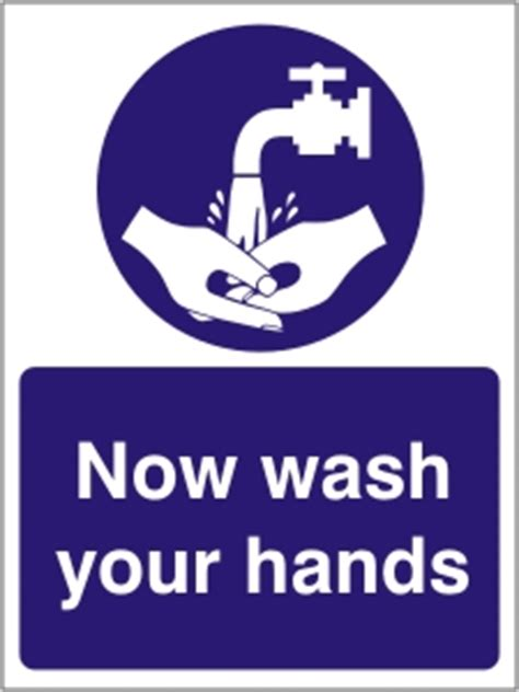 wash  hands health  safety sign ssd