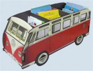 Werkhaus Vw Bus : werkhaus b cherbus b cherbox vw bus t1 bulli b cherregal rot ~ Sanjose-hotels-ca.com Haus und Dekorationen