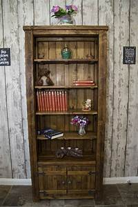 Rustic, Bookcase, Cabinet, U2014, Marcuscable, Com