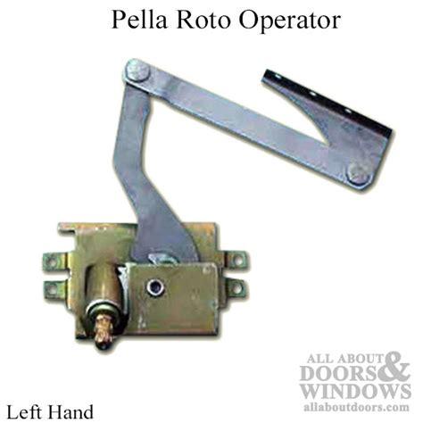 pella casement roto operator   pella pro series left hand
