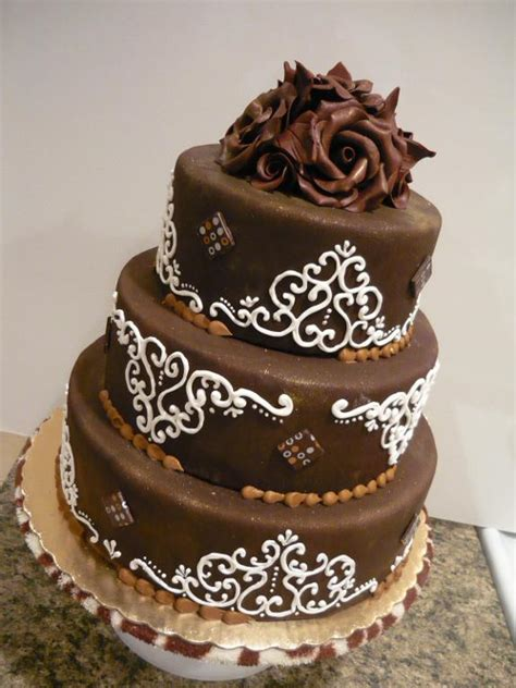 Cake Decoration Ideas With Chocolate by You To See Chocolate Cake With Filigree By Cakewit