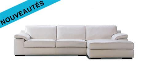 soldes canapé angle le canapé cuir flava est proposé en canapé d angle en