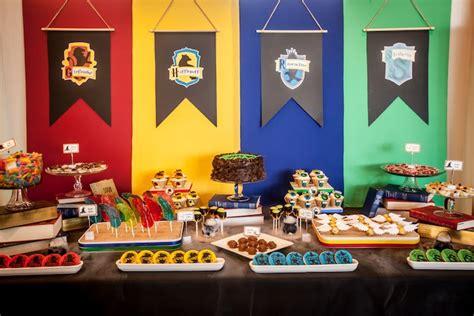 karas party ideas detailed harry potter birthday party
