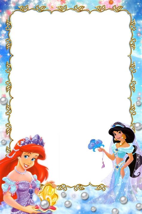 princess border frames pictures frames borders