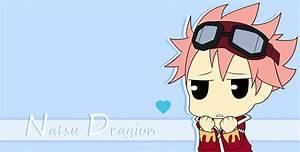 Chibi Natsu Dragion - Fairy Tail [Photoshop] by Serenarla ...