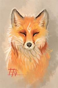 pin by sanabria chavarría on fox painting