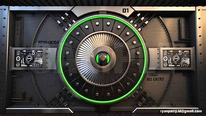 Vault Sci Fi 3d Animation