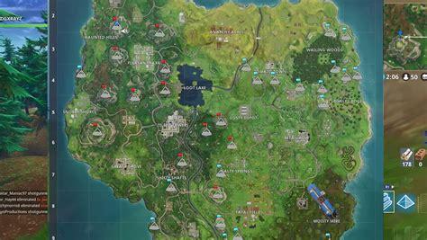 fortnite mountain peak locations  week  challenge
