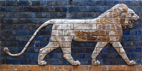 Lion Of Babylon Illustration Ancient History Encyclopedia