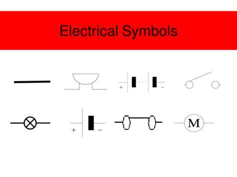 Electric Circuit Symbols Jimbob Teaching Resources