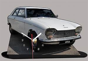 204 Peugeot Coupé : peugeot 204 coup blanche en miniature auto horloge ~ Medecine-chirurgie-esthetiques.com Avis de Voitures