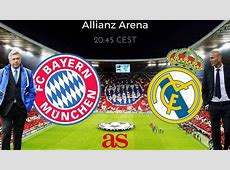Champions League Bayern Munich vs Real Madrid how and