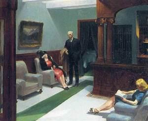Hotel Lobby, 1943 by Edward Hopper