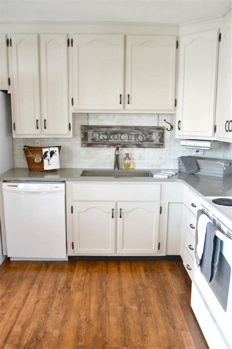 frugal kitchen makeover a diy kitchen makeover that made a big impact with a small 1113