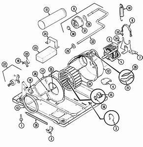 Admiral Laundry Motor  U0026 Drive Parts