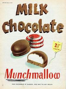 Vintage Food Advertising poster A4 RE PRINT Milk Chocolate ...