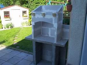 barbecue en dur fait maison With photo barbecue fait maison