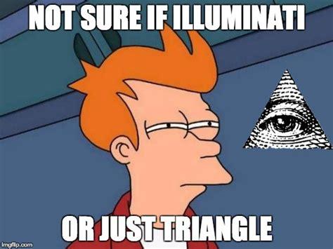 futurama illuminati futurama fry meme imgflip