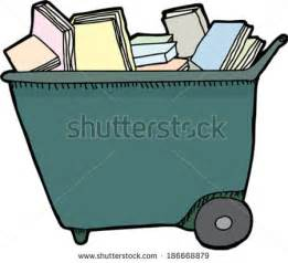 Library Book Cart Clip Art Free