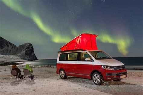 vw california  review camping   arctic circle