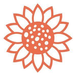 sunflower sunflower stencil cricut vinyl sunflower template