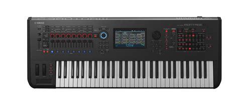 Yamaha Montage 6 61 Key Flagship Synthesizer