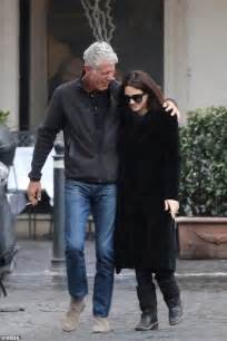 Asia Argento and Anthony Bourdain Girlfriend