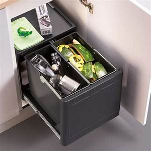 Blanco Küchenarmatur Montageanleitung : blanco botton pro manuell abfallsystem mit 2 eimern ~ Watch28wear.com Haus und Dekorationen