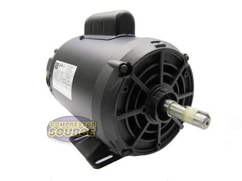 Electric Motor Horsepower by 2 Hp Power Single Phase Heavy Duty Electric